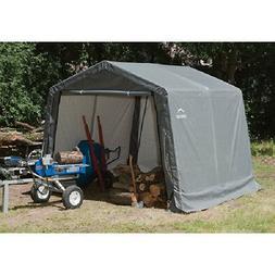 10x10x8 ShelterLogic Outdoor Shed and Storage Shelter Garage