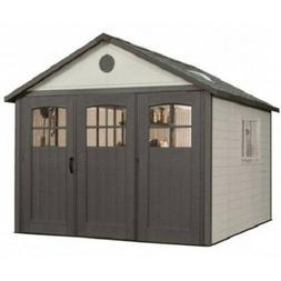 Lifetime 11x21 Storage Shed Garage w/ 9ft Wide Doors