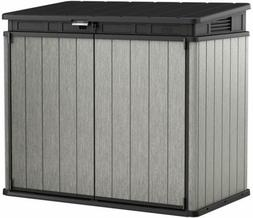 35. 5 cu. Ft Outdoor Horizontal Storage Shed Weather-resista