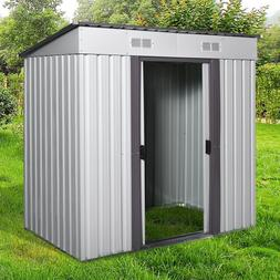 4' x 6' Outdoor Garden Storage Shed Utility Tool House Backy
