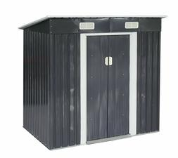 4 x 6ft outdoor storage shed tool