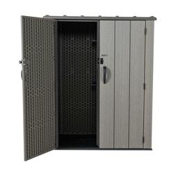 53 cubic feet vertical storage shed