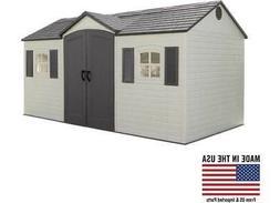 Lifetime 6446 Side Entry Garden Building Outdoor Storage She