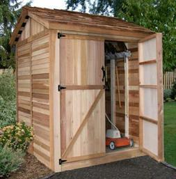 Outdoor Living Today 6X6 Maximizer Storage Shed