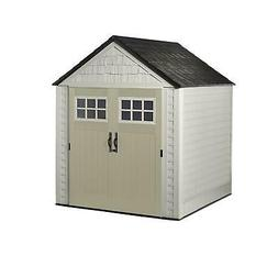 Rubbermaid 7 x 7 Feet Big Max Storage Shed with Utility and