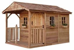 Outdoor Living Today Santa Rosa Cedar Storage Shed 8' x 12'