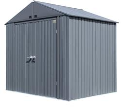 Arrow Shed 8' X 6' Elite Steel Shed With High Gable And Lock