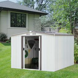 8'x6'Garden Storage Shed Outdoor Garage All Weather Tool Uti