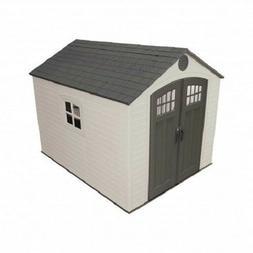 Lifetime 8x10 Outdoor Storage Shed Kit w/ Horizontal Siding
