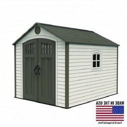 Lifetime 8x10 Storage Shed Kit w/ Corner Trims
