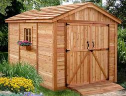 Outdoor Living Today 8X12 SpaceMaker Storage Shed