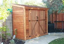 Outdoor Living Today 8X4 SpaceSaver Storage Shed