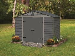 Arrow Storage Products Admiral Series Steel Storage Shed, 8