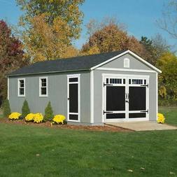 braxton 12 x 24 garage shed 2