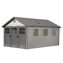 Lifetime Buildings 11x21 Plastic Storage Shed / Home Garage