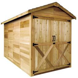 Cedarshed Rancher Shed in 10 sizes: 6' 8' 10' wide options