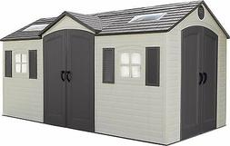 Dual Entry Garden Shed