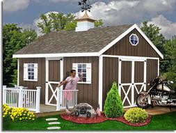 Best Barns Easton 12 ft. x 16 ft. Wood Shed Kit