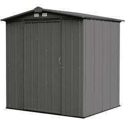 Arrow 6x5 Ezee Storage Shed Kit - Charcoal