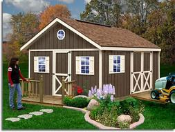 Best Barns Fairview 12' X 12' Wood Shed Kit