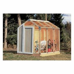 Fast Framer Universal Outdoor Home Yard Storage Tool Shed Pl