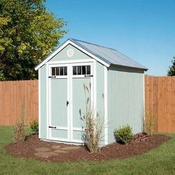 Yardline Garden 6' x 8' Wood Storage Shed