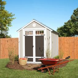 Garden 6' x 8' Wood Storage Shed
