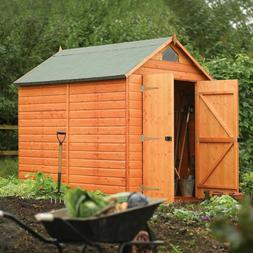 Rowlinson Garden Products Outdoor Wood Security Storage Shed