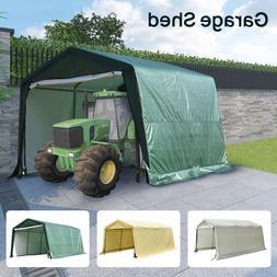10'x10'x8'/10'x15'x8'FT Storage Shed Tent Car Garage Shelter
