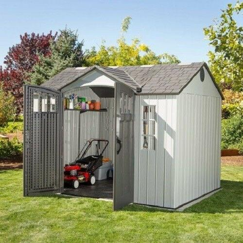 Lifetime 10x8 Outdoor Storage Shed Siding