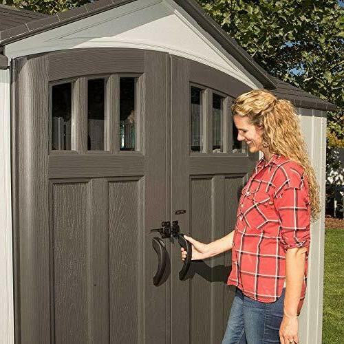 10x8 outdoor storage shed kit w vertical