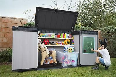 Keter 237831 Elite Outdoor Storage Shed,