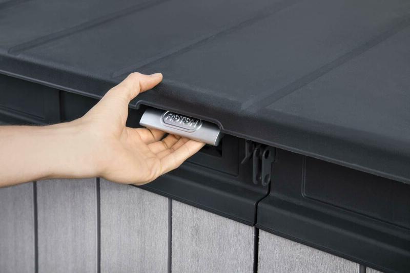 Keter 237831 Storage Shed, Grey/Black