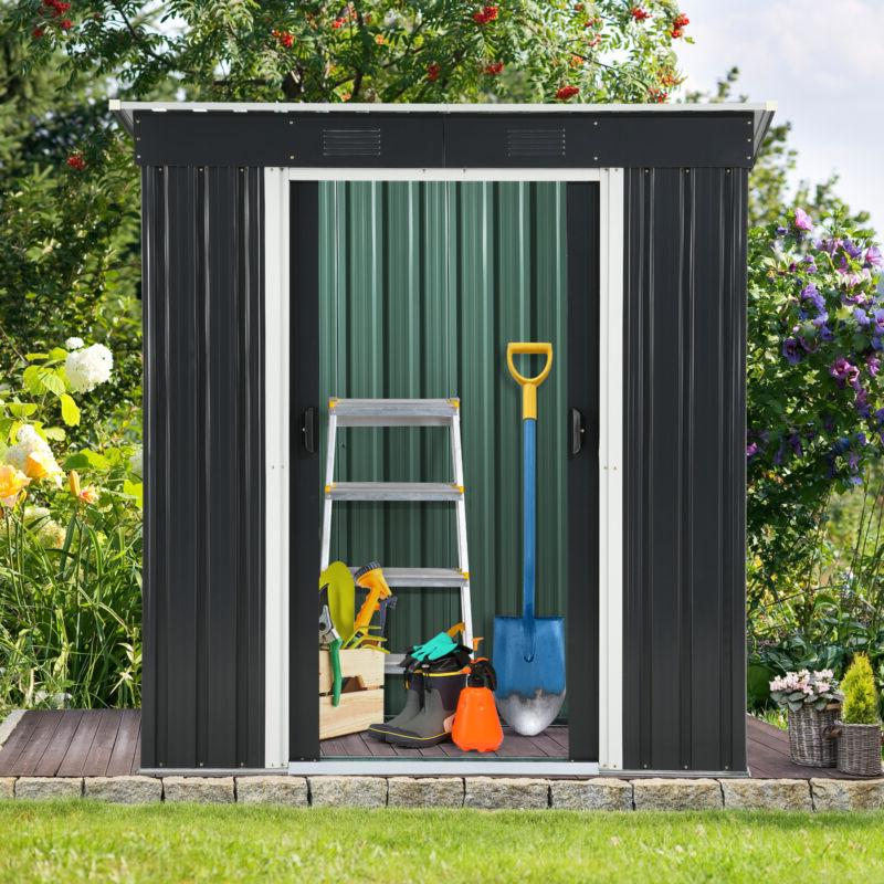 4 x 6 outdoor storage shed utility