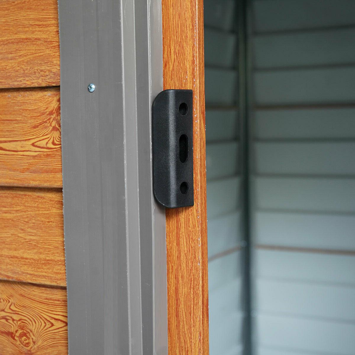 5x6 Outdoor Storage Shed House Sliding Door