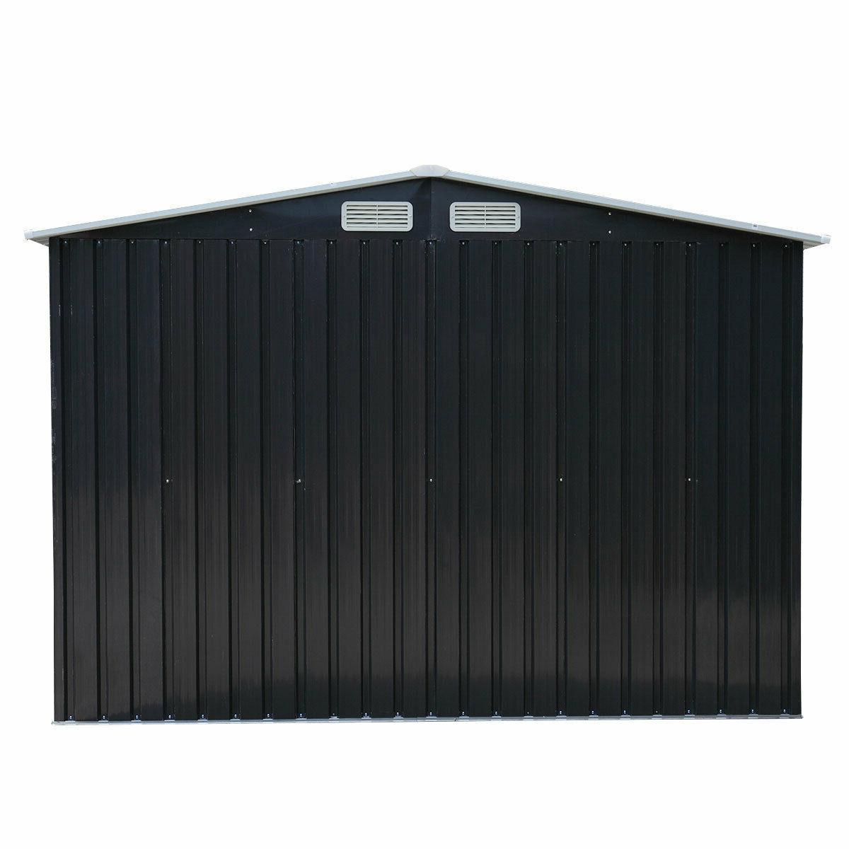 8 Door Backyard Steel House