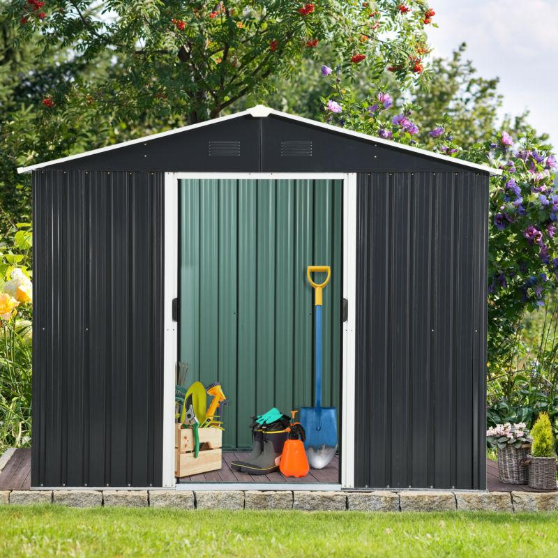 YITAHOME 6'x8' Storage Utility House Door