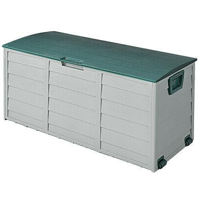 """79 Gallon 44"""" Storage Box Outdoor Garage Shed Tool Container"""