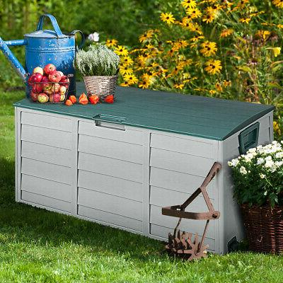 79 Deck Storage Patio Garage Shed Tool Container