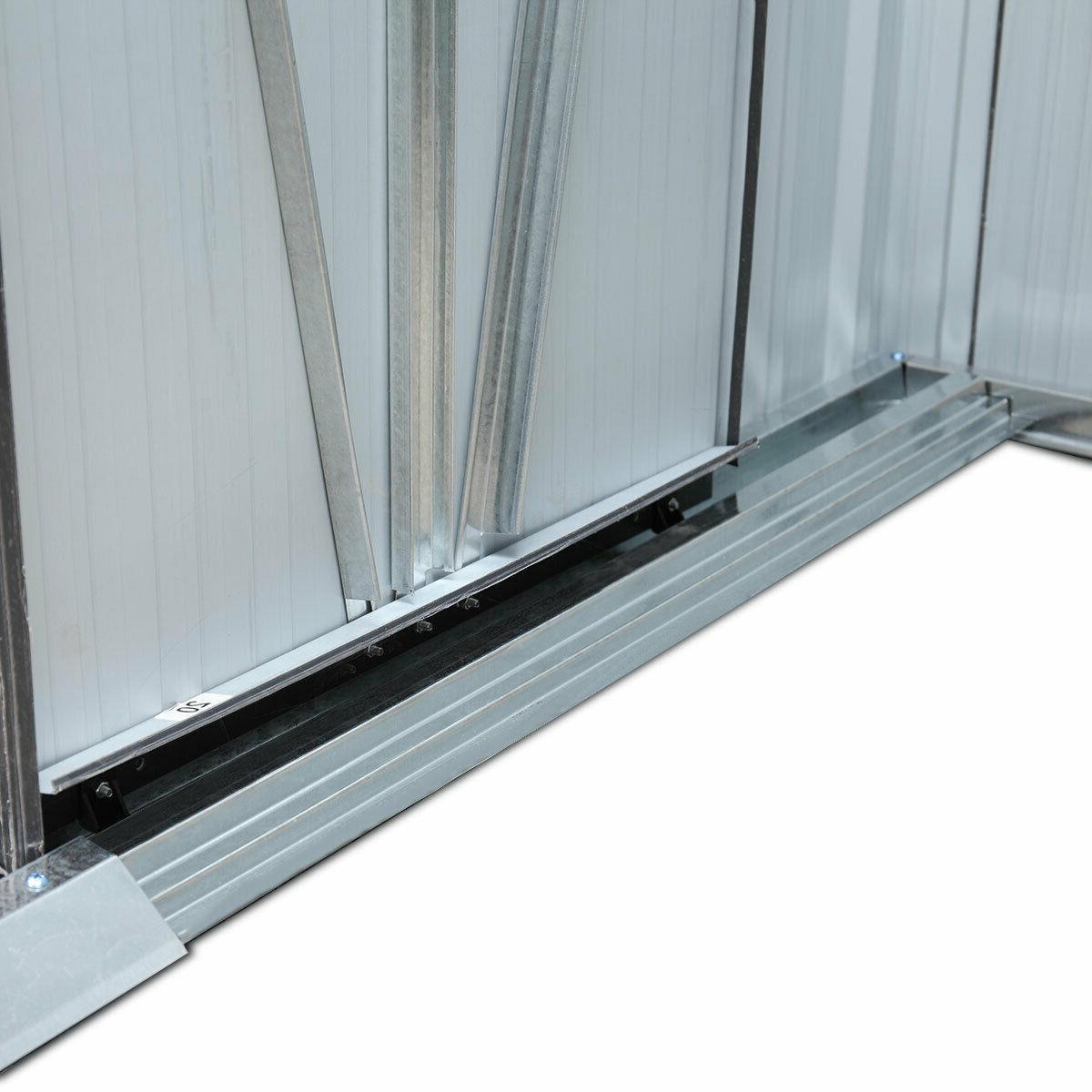 8 Outdoor Garden Storage Door Steel Tool House
