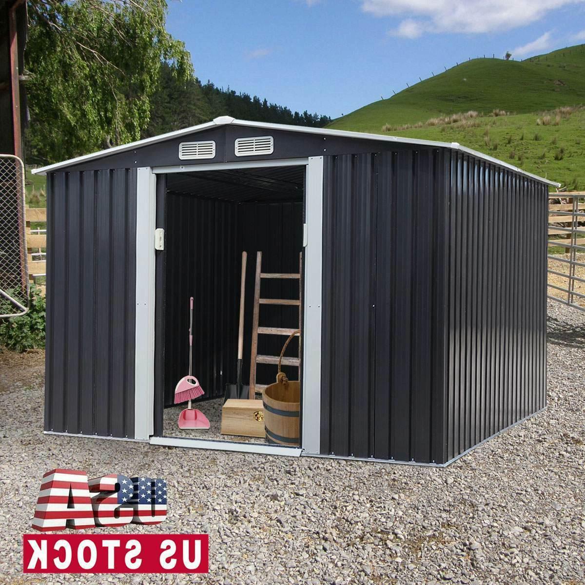 8 x 8 ft outdoor garden storage
