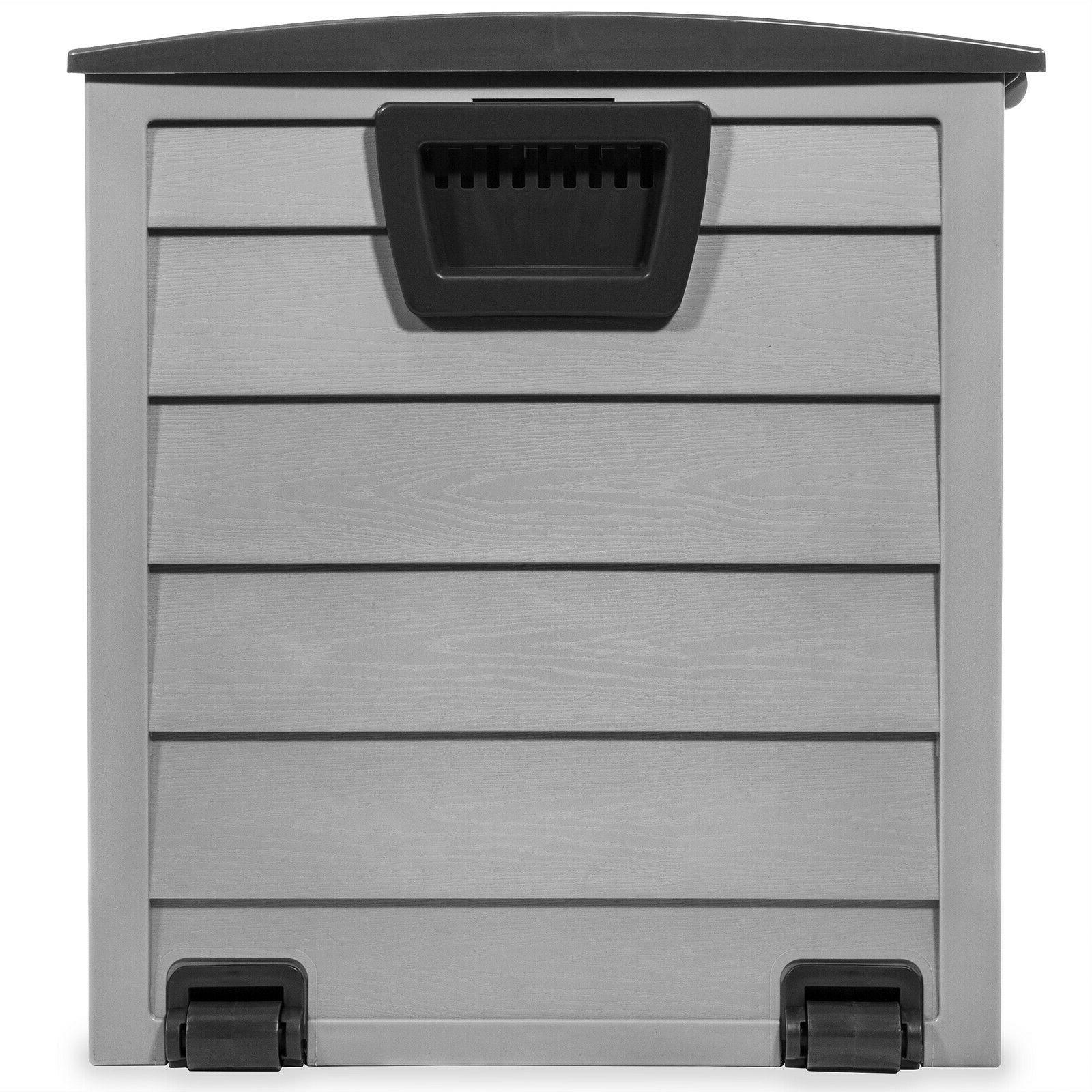 All-Weather Box w/ UV Shed Bin 63 Gallons