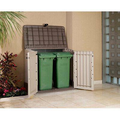 All-Weather Garden Pool Shed Box