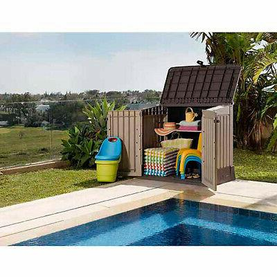 All-Weather Plastic Garden Pool Box Ft