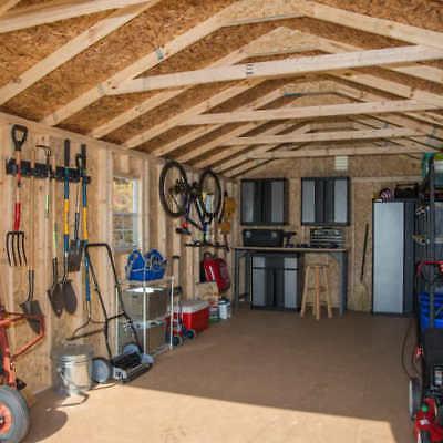 Braxton 12' Garage 2,391 Cubic Feet