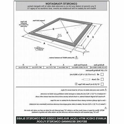 Braxton 12' x 24' Garage Shed, 2,391 Feet
