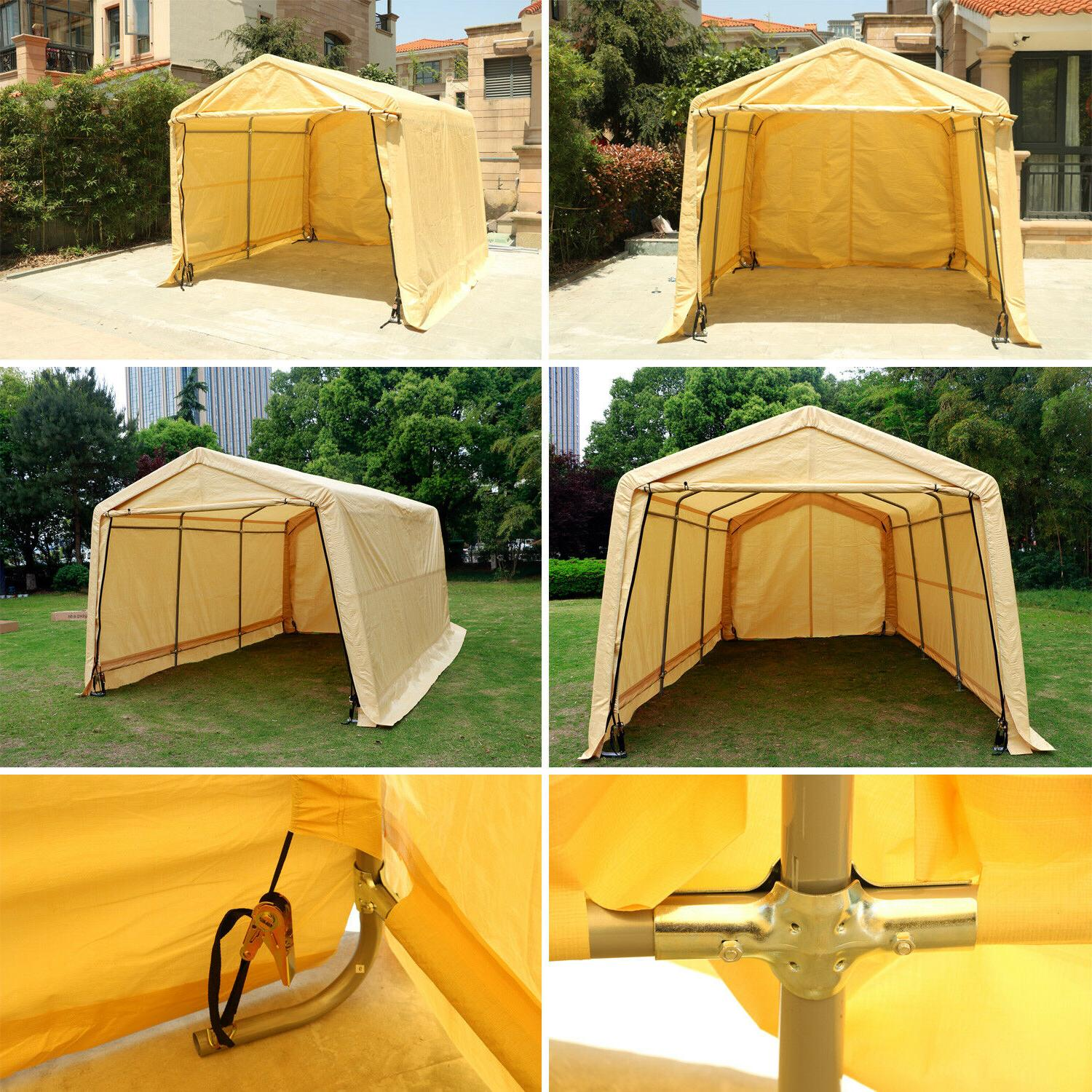 Outdoor Car Shelter Shed Sun UV Cover