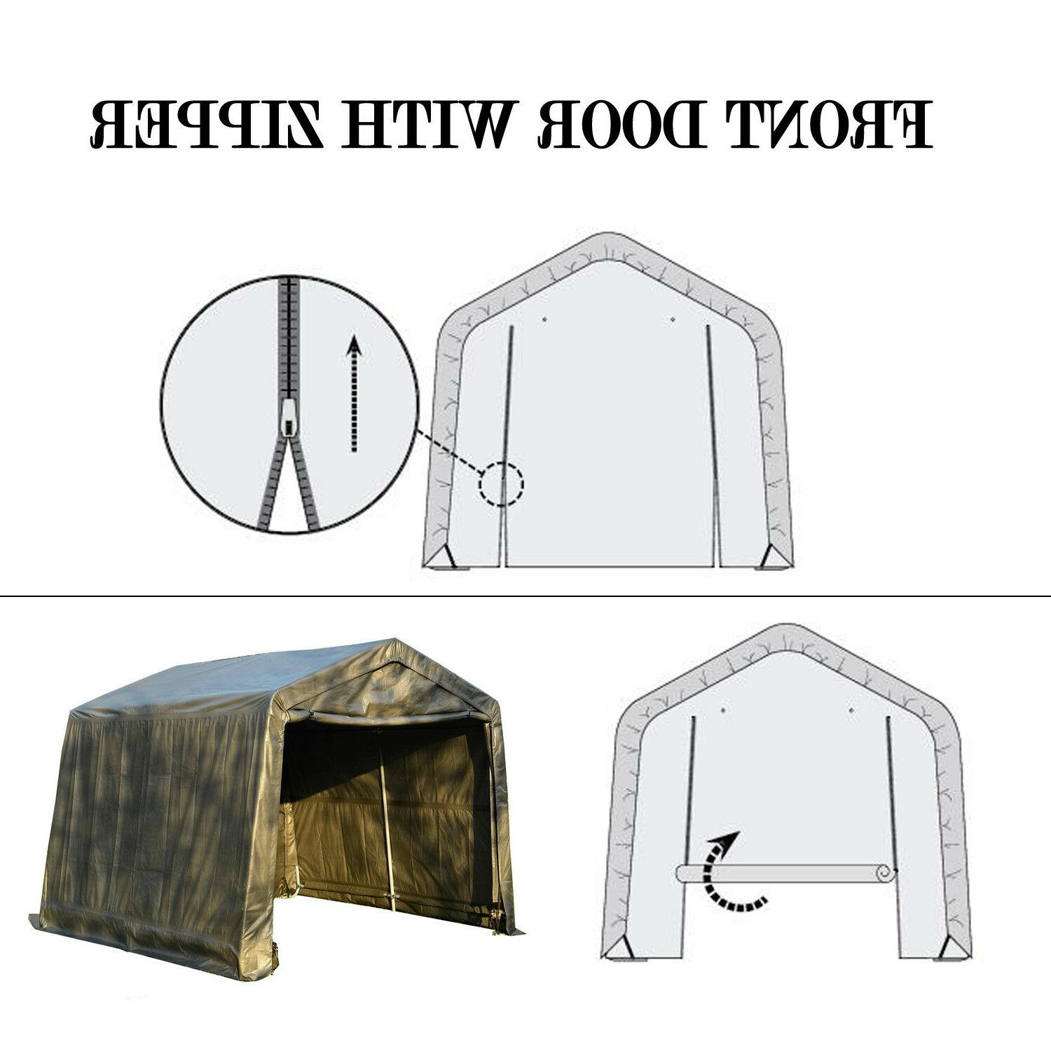 Outdoor Canopy Car Garage Cover
