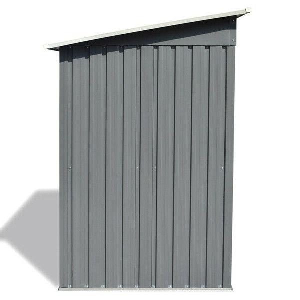 """Garden Shed Metal 74.8""""x48.8""""x71.3"""" Garage Storage House"""