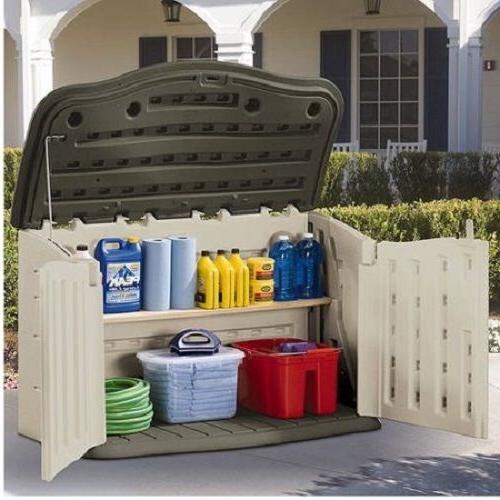 Garden Storage Box Unit Yard Furniture